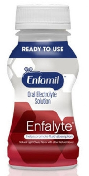 Oral Electrolyte Solution Enfamil® Enfalyte® 6 oz. Bottle Ready to Use