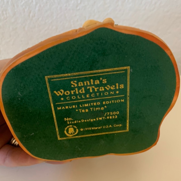 SANTA'S WORLD TRAVELS  by Murari Tea Time  Limited Edition
