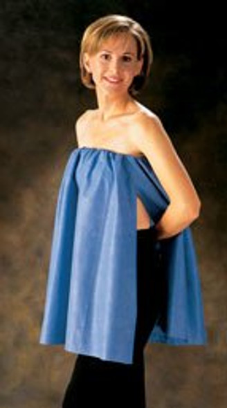 Exam Cover-Up FlexFit® Blue One Size Fits Most Open Sides Elastic Band Female COVER-UP, EXAM FLEXFIT BLU (25/CS)