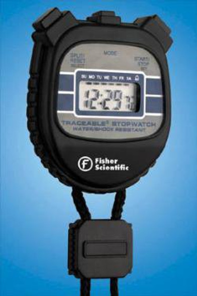 Digital Stopwatch Shock Resistant, Water Resistant Traceable® 24 Hours Digital Display