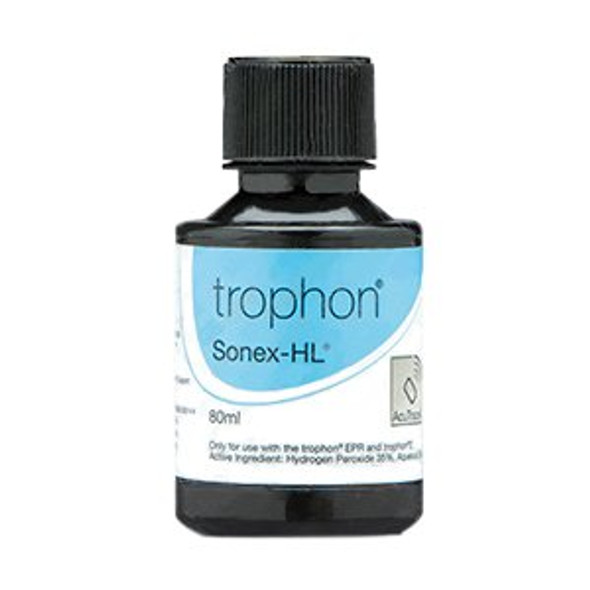 Ultrasound Probe Disinfectant trophon® Sonex-HL® 80 mL Bottle For Trophon EPR Disinfection System
