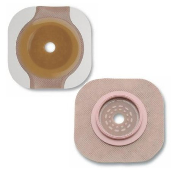 Ostomy Barrier New Image™ Flextend™ Trim to Fit, Extended Wear Adhesive Tape 70 mm Flange Blue Code System Hydrocolloid Up to 2-1/4 Inch Opening
