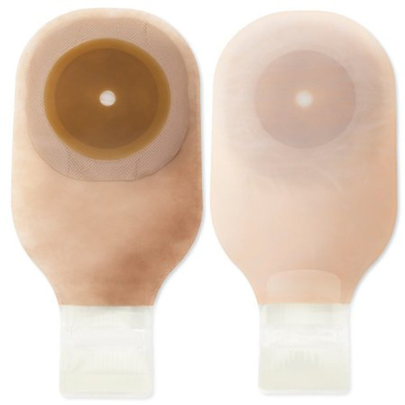 Ostomy Pouch Premier™ One-Piece System 12 Inch Length Up to 2-1/2 Inch Stoma Drainable Flat, Trim to Fit