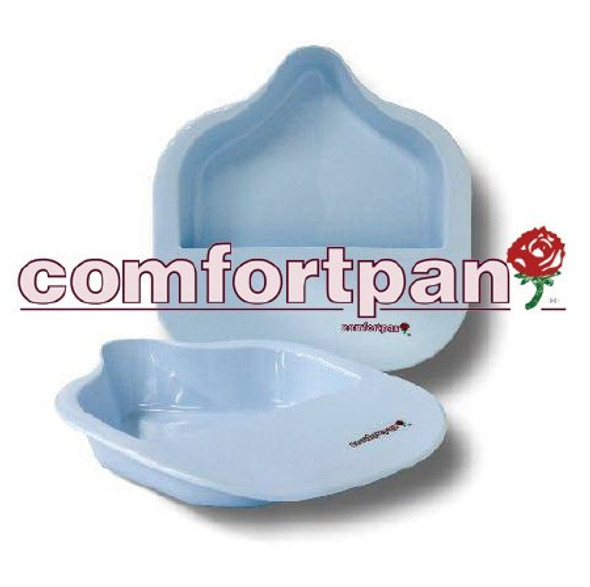 Bariatric Bedpan Comfortpan® Blue 2 Quart / 1893 mL