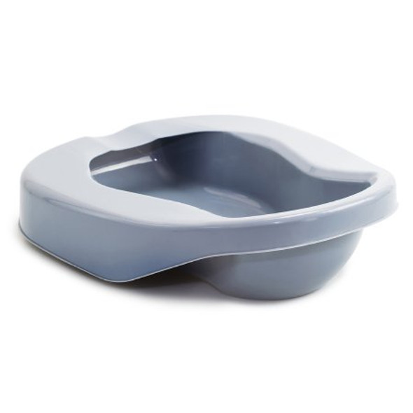 Contoured Bedpan McKesson Gray 84 oz. / 2484 mL