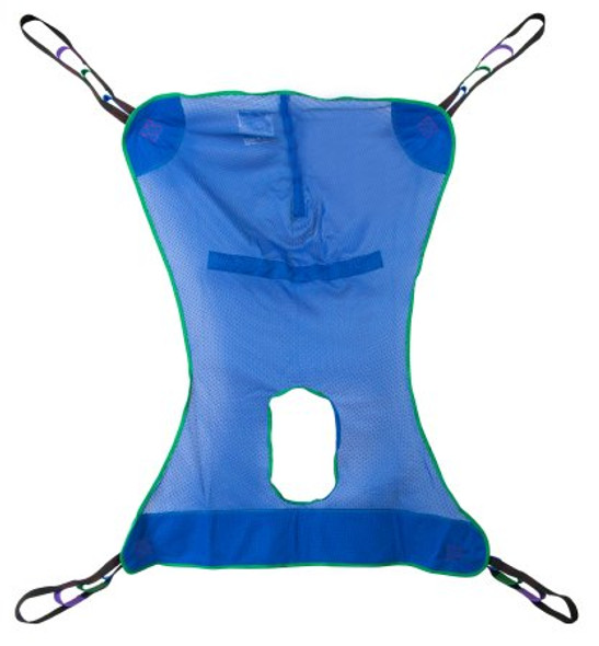 Full Body Commode Sling McKesson 4 or 6 Point Without Head Support  600 lbs. Weight Capacity