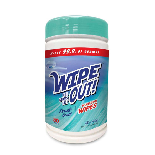Wipe Out Antibacterial Wipes