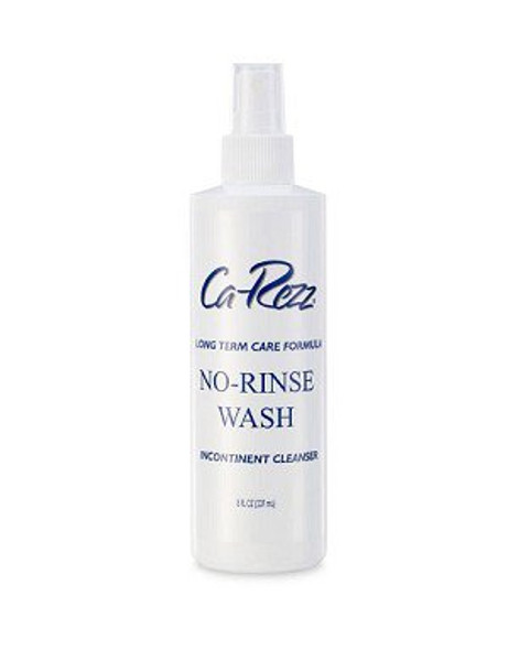 Rinse-Free Perineal Wash Ca-Rezz® Liquid 8 oz. Pump Bottle Floral Scent