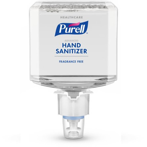 Hand Sanitizer Purell® Healthcare Advanced 1,200 mL Ethyl Alcohol Foaming Dispenser Refill Bottle Unscented CS/2 (ES4)