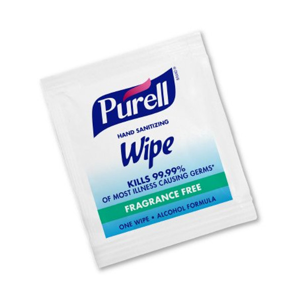 Hand Sanitizing Wipe Purell® 4,000 Count Ethyl Alcohol Wipe Individual Packet