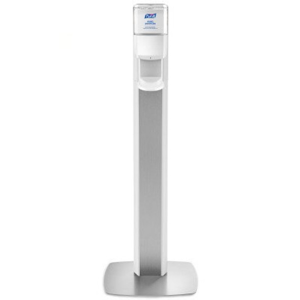 Hand Hygiene Dispenser Purell® Messenger® ES8 White ABS Plastic Automatic 1200 mL Floor Stand