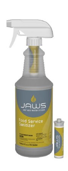 JAWS® Surface Cleaner / Sanitizer Quaternary Based Liquid Concentrate 5 mL Cartridge Unscented NonSterile CS/6
