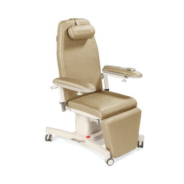 Infusion Chair McKesson Natural Four 3 Inch Casters