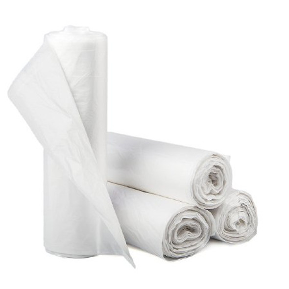 Trash Bag McKesson 33 gal. Clear LLDPE 1.25 Mil. 33 X 40 Inch Star Seal Bottom Coreless Roll (100 count)