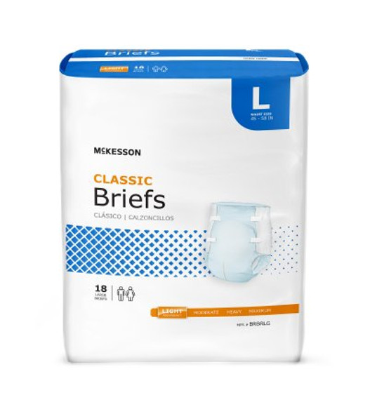 Brief Classic Tab Closure Light Absorbency (M, L, XL)