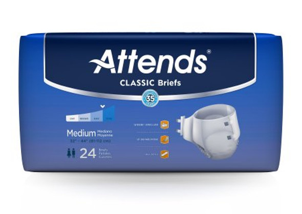 Adult Incontinent Brief Classic Tab Closure Disposable Heavy Absorbency