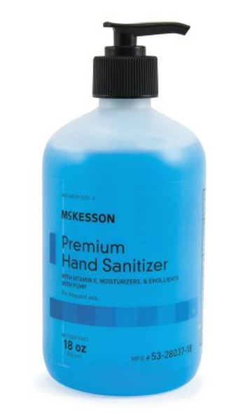 Hand Sanitizer Premium Ethanol Gel Bottle/Pump