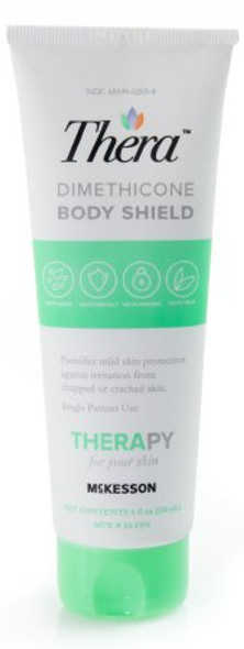 Skin Protectant  Dimethicone Body Shield 4 oz. Tube Scented Cream