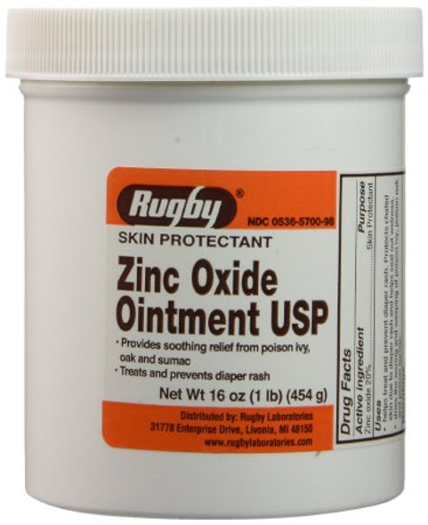 Skin Protectant 16 oz. Jar Unscented Ointment (zinc)