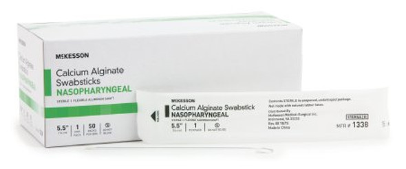 Speciman Collection Swabstick McKesson 5-1/2 Inch Sterile