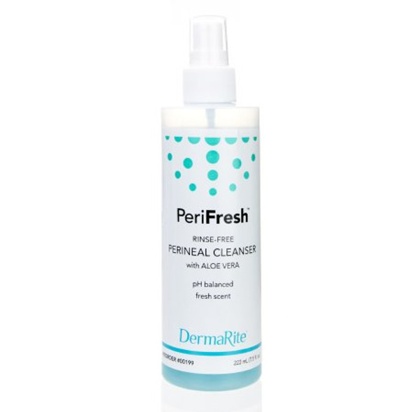 Rinse-Free Perineal Wash PeriFresh® Liquid 7.5 oz. Pump Bottle Fresh Fruit Scent