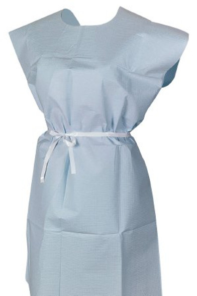 Patient Exam Gown McKesson Adult One Size Fits Most NonSterile (50 count)
