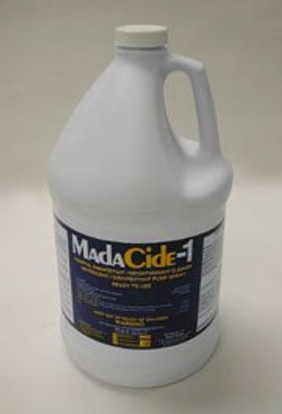 Surface Disinfectant Cleaner MadaCide-1® Alcohol Free Liquid 1 gal. NonSterile Jug Scented