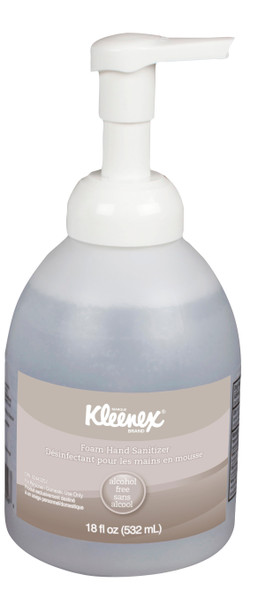 Kleenex® Alcohol Free Foam Hand Sanitizer