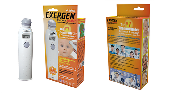 Temporal Artery Thermometer- All Ages
