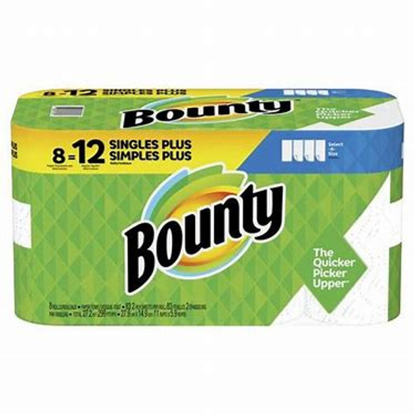 Bounty Single Plus 8-Count Paper Towels
