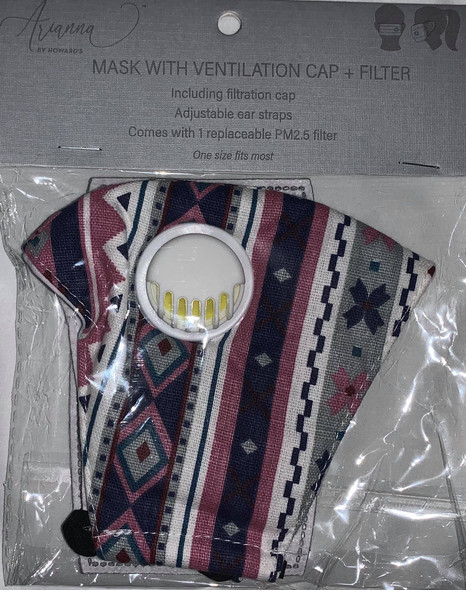 Mask with Ventilation Cap & Filter