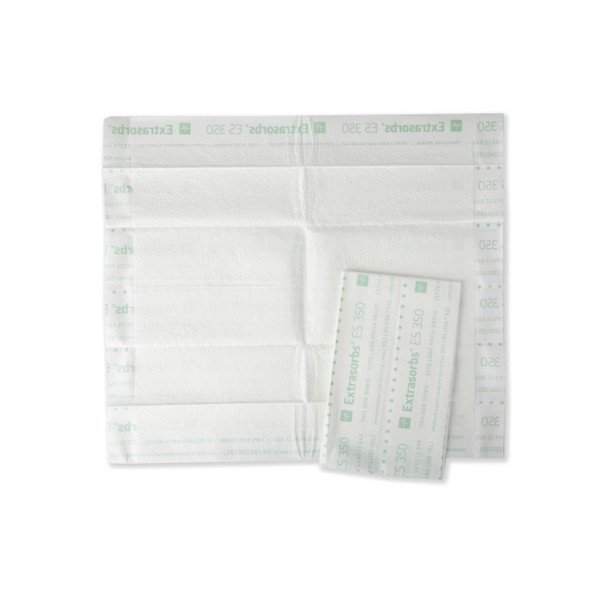 """Extrasorbs Extra Strong Disposable Underpads, Super Absorbent Dry Pads, 30"""" x 36"""