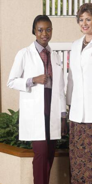 Lab Coat White 2X-Large Knee Length Reusable