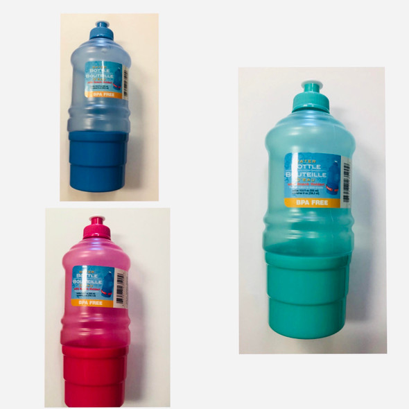 Water Bottle with snack holder
