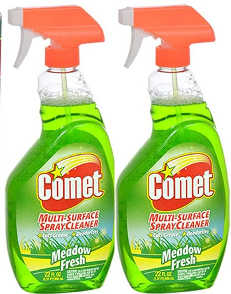 Comet Multi-Surface Spray Cleaner, Meadow Fresh