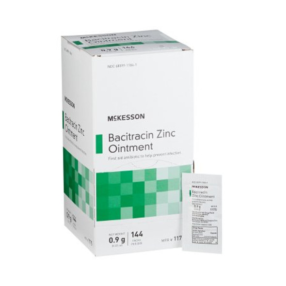 First Aid Antibiotic McKesson Brand Ointment, 0.9G