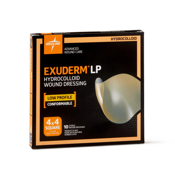 Exuderm LP Low-Profile Hydrocolloid Wound Dressings