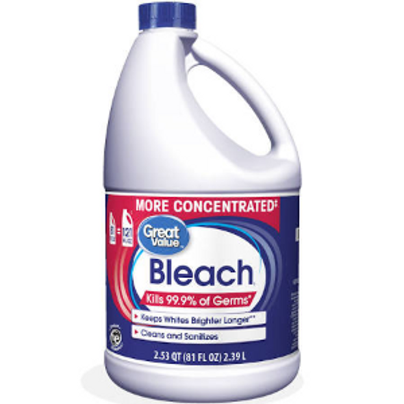 Great Value Concentrated Fabric Protection Bleach, 81oz