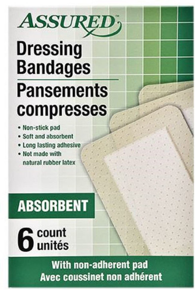Individually Wrapped Sterile Adhesive Dressing Bandages