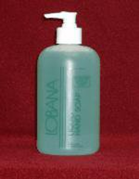 Antimicrobial Soap Lobana® Liquid 16 oz. Pump Bottle Scented