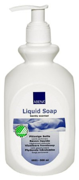Soap Abena Liquid 16.9 oz. Pump Bottle Unscented (12/CS)