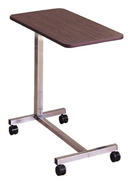 Overbed Table McKesson Non-Tilt Spring Assisted Lift 28-1/4 to 43-1/4 Inch Height Range