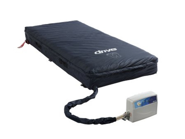 Bed Mattress System Med-Aire® Assure Alternating Pressure | Low-Air-Loss System 80 X 35.5 X 8 Inch