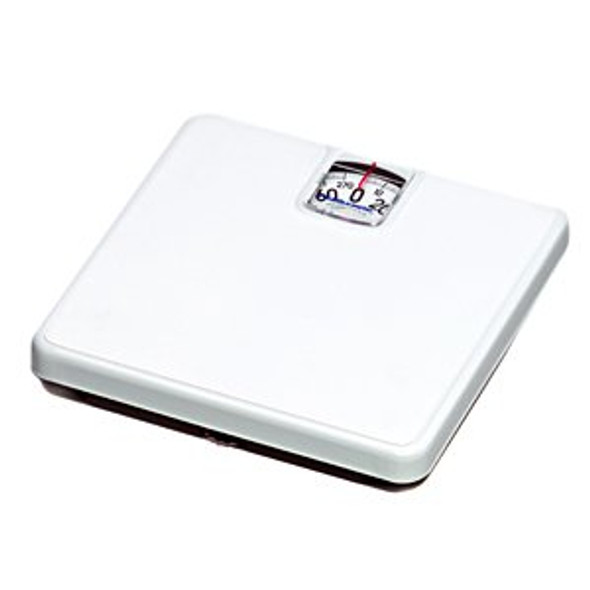 Floor Scale Health O Meter Dial Display 270 lbs. Capacity Black / White Analog