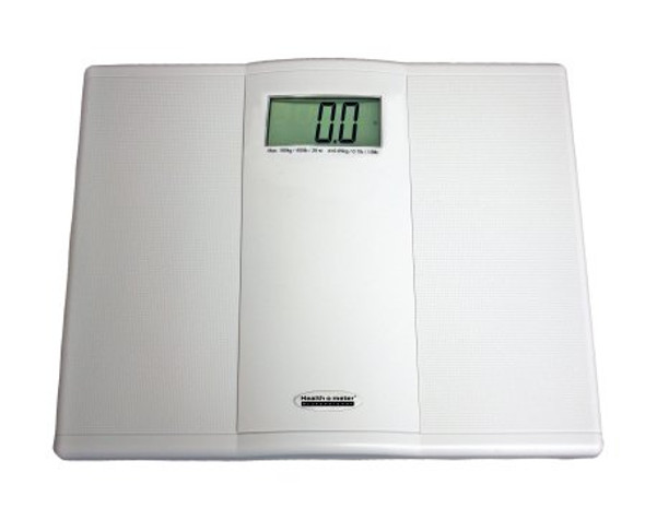 Floor Scale Health O Meter® Digital Audio Display 400 lbs. Capacity Battery Operated