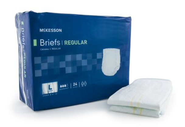 Adult Incontinent Brief Regular Tab Closure Disposable Moderate Absorbency