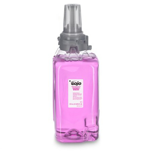 Antibacterial Soap GOJO® Foaming 1,250 mL Dispenser Refill Bottle Plum Scent (QTY 3)
