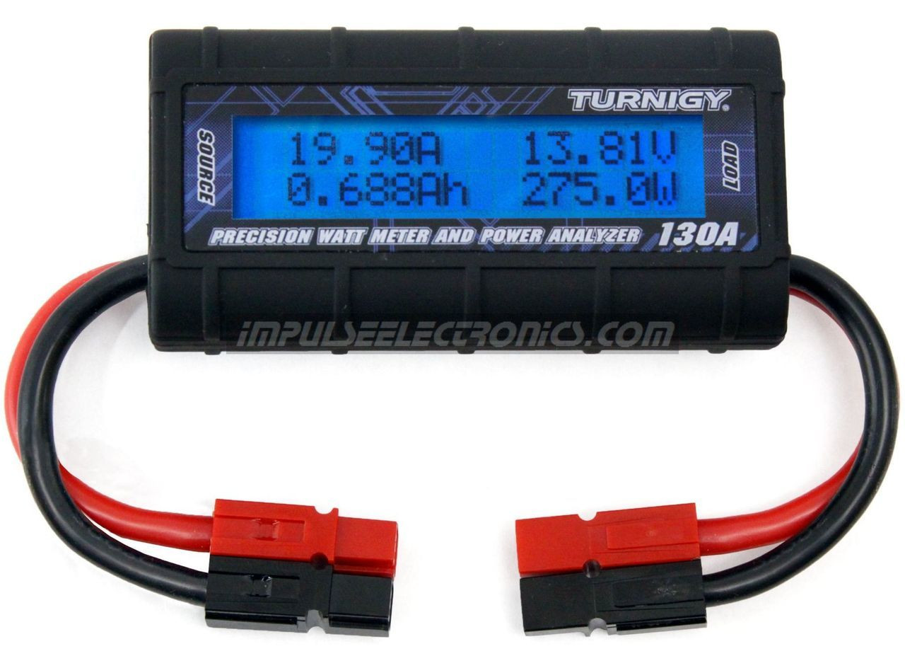 DC Watt Meter and Power Analyzer with Powerpole Connectors