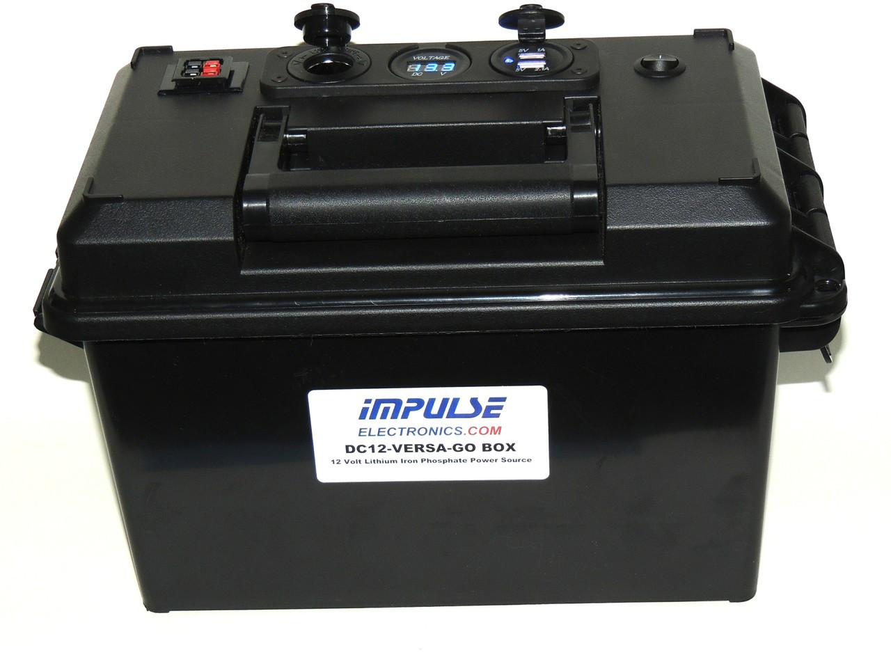 DC12 VERSA-T300 GO-BOX for LiFePO4 or AGM Battery and Charger