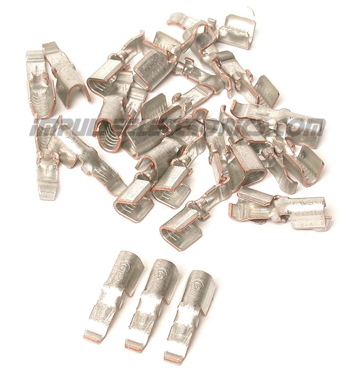 45 Amp Loose Piece Powerpole Contact, 50 Pak